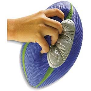 Diggin Squish Soft Kids Nerf Football  Easy Grip   Foam Ball