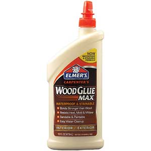 Elmer's Wood Glue for Cutting Boards | Interior, Exterior | 16oz