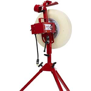 First Pitch Pitching Machines for Baseball | Swivel Base | 50lbs