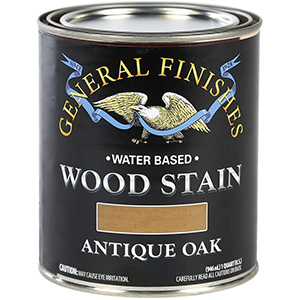 General Finishes Stains For White Oak   Water-Based   Antique