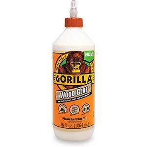 Gorilla 6206005 Wood Glue for Cutting Boards | 36oz | No-Spot