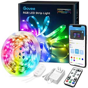 Govee LED strip lights/ Bluetooth and remote control/preset mode /16.4.inch