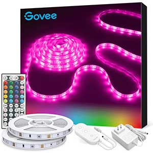 Govee RGB LED strip lights / strong 3M adhesive/ / 32.8ft