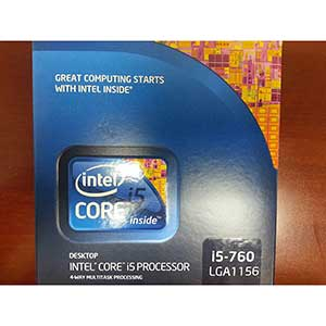 Intel Core i5-760 LGA 1156 CPU | 2.8 GHz | 8 MB