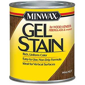 Minwax Gel Stain For Exterior Wood Door | Non-Drip | 2 Pounds