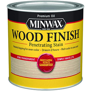 Minwax Stains For White Oak   Semi-Transparent   Rich Color