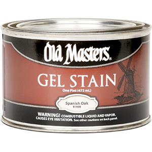 Old Masters Gel Stains For White Oak   Superior   Cool-Toned