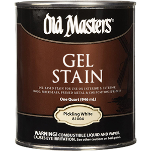 Old Masters Stains For White Oak   Gel Formula   White