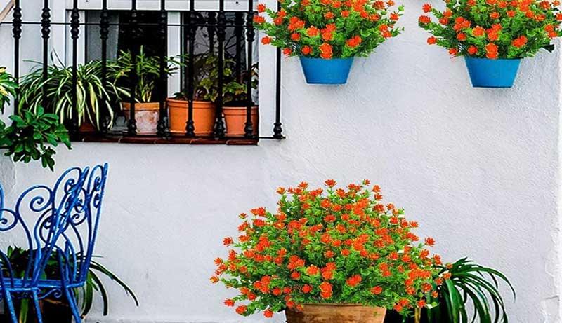Outdoor Artificial Flowers