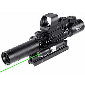 Pinty Scope Fiber Optic Sights | Dot Sight | Highly Accurate