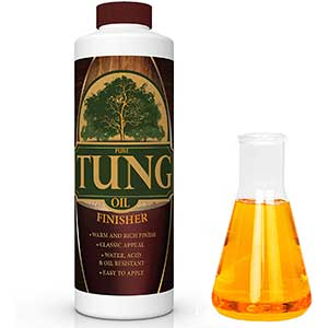 Pure Tung Stain For Exterior Wood Door | Classic Appeal | 32oz