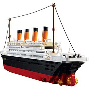 SuSenGo Titanic Model Kit | Most Detailed and Accurate | 1021 pcs