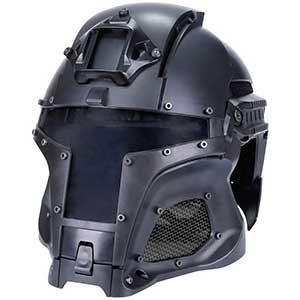Sunris Tactical Ballistic Helmet | Steel Mesh Lens | Full Face