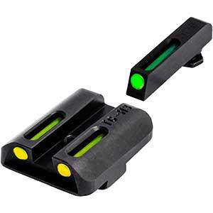TRUGLO TFO Fiber Optic Sights | Yellow Rear