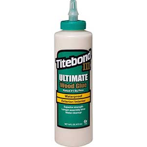 Titebond III Wood Glue for Cutting Boards | 16oz