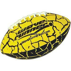 Wave Runner Grip It Waterproof Nerf Football   Size 9.25 Inches   With Sure-Grip Technology