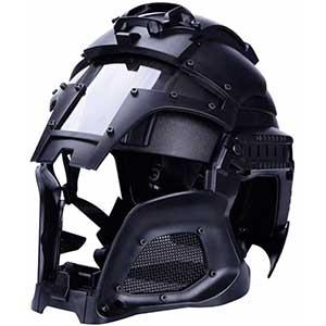 Yashaly Military Ballistic Helmet | Chin Strap | Polycarbonate