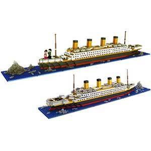 dOvOb Micro Titanic Model Kit | Mini Bricks Toy | 1872 pcs