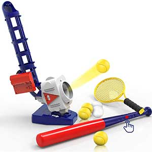 iPlay Youth Baseball Pitching Machine | 2:1 | Remote Control