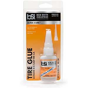 Bob Smith CA Glue for RC Tires | Ultra-Cure | 2 Packs