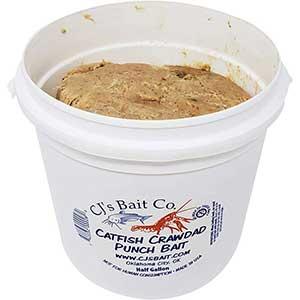 CJ's Catfish Punch Bait   Crawdad Flavor   Super Sticky
