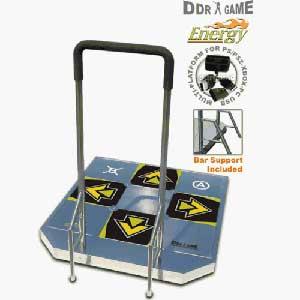 Dance Dance Revolution DDR Pad   Handle Bars