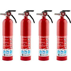 First Alert Fire Extinguisher For Electrical Fire | 21 pounds