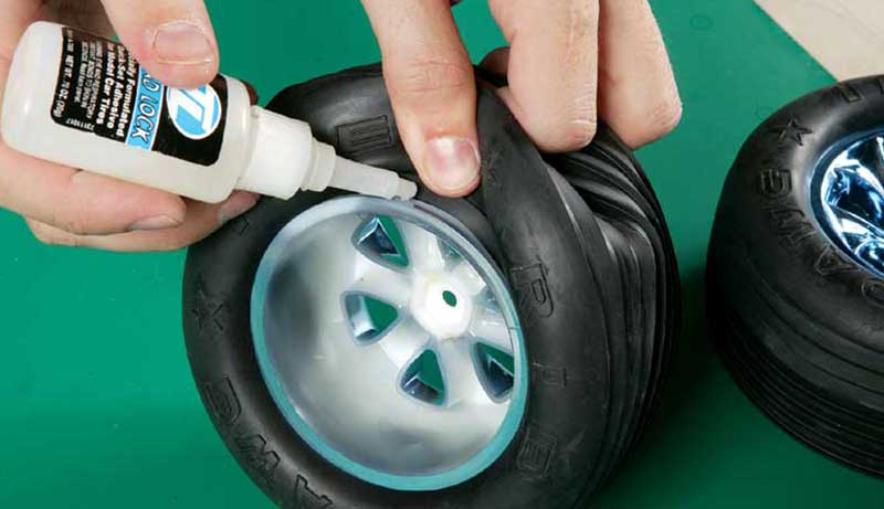 Glue for RC Tires