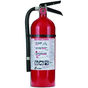 Kidde Fire Extinguisher For Electrical Fire | 7 pounds