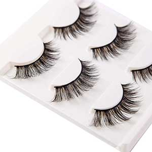 PURELEOR Lashes For Small Eyes | Faux Mink | Three Pairs