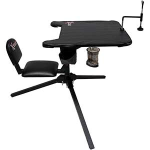 X-Stand Shooting Bench | 360˚ Swivel Seat | Capacity 300lbs
