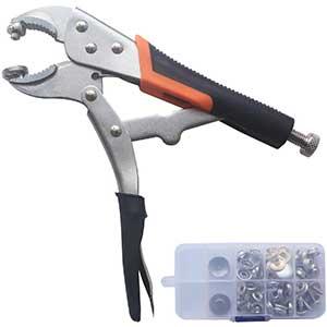 YZS Snap Fastener Tool   Nickel Plating