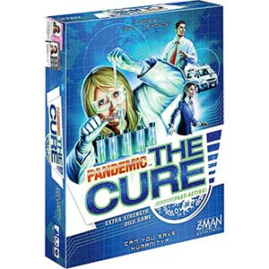 Z-Man Games Pandemic Expansion: The Cure