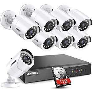 ANNKE Long Range Wireless Security Camera System | 5MP