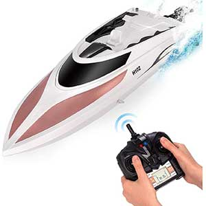 Abco Tec RC Boat for Pool | 4 Channel Remote | 32+kmh