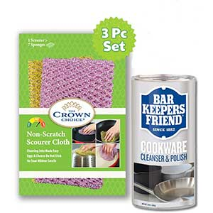 BKF Stainless Steel Scratch Remover| 3PC