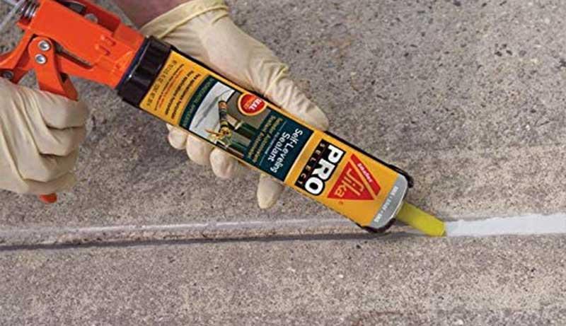 Best Caulk for Concrete Cracks
