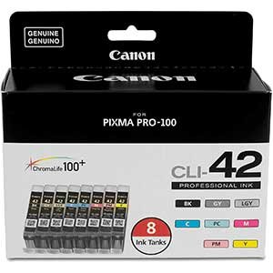 CANON Printer Ink | 8 Pack | Compatible to PIXMA PRO-100