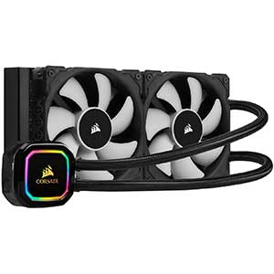 Corsair RGB 120mm AIO Cooler | 240mm Radiator | Dual Fans