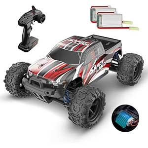DEERC 4WD RC Monster Truck | 40+ Min Play | 30+ mph | 1:18