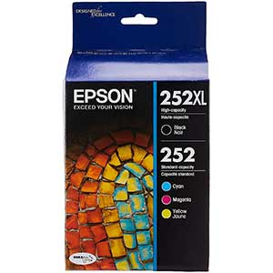 EPSON Printer Ink | High-Yield | Pack Of 4