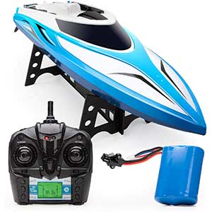 Force1 Velocity H102 RC Boat for Pool | 20+mph | 2.4GHz