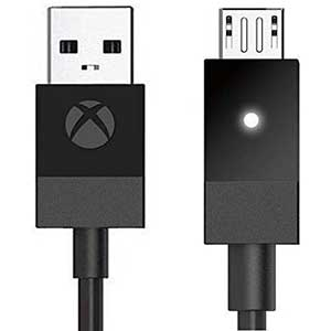 Microsoft Micro USB Cable for Xbox One Controller | 2.7m