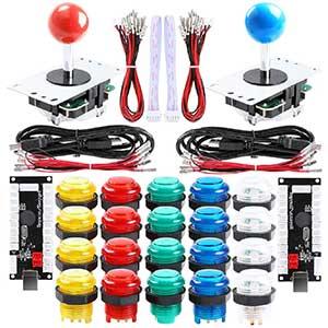 Qenker Arcade Buttons | Heat Resistant | 2 Player