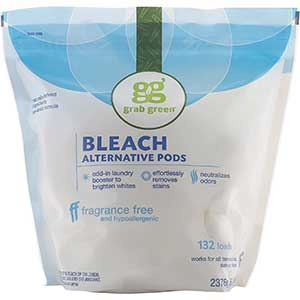Seventh Generation Non-Chlorine Bleach | Color-Safe | Pack of 6