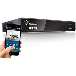 TIGERSECU HD 8CH DVR Security System | IP Cam Supports