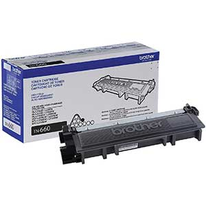 Brother TN660 Black Printer Toner | Sharper