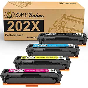 CMYBabee Compatible Toner Cartridges | 4 Packs
