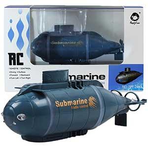 Jujuism Mini RC Submarine | High Speed | Pools/Lake/Ponds