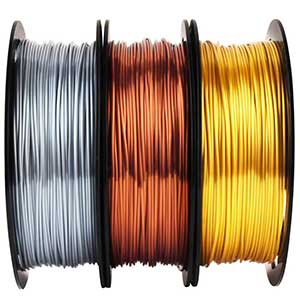 MIKA3D PLA Filament Bundle | 1.75mm | 3 Spools Pack
